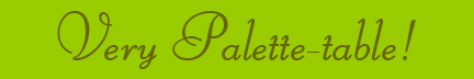 &quot;Very Palette-table!&quot; blog post banner