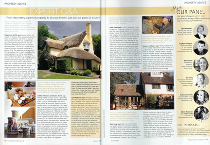 Adelle & Justin from H is for Home are the new vintage experts for Period Homes & Interiors magazine