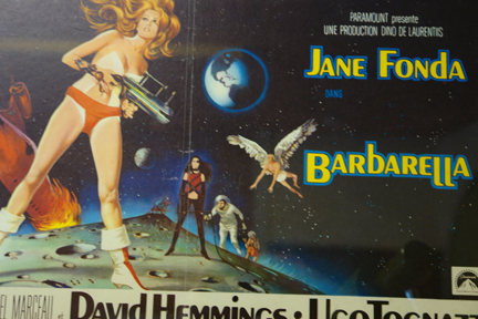 original vintage 'Barbarella' film poster