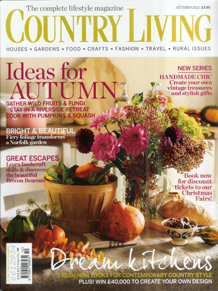 October 2012 Country Living magazine cover