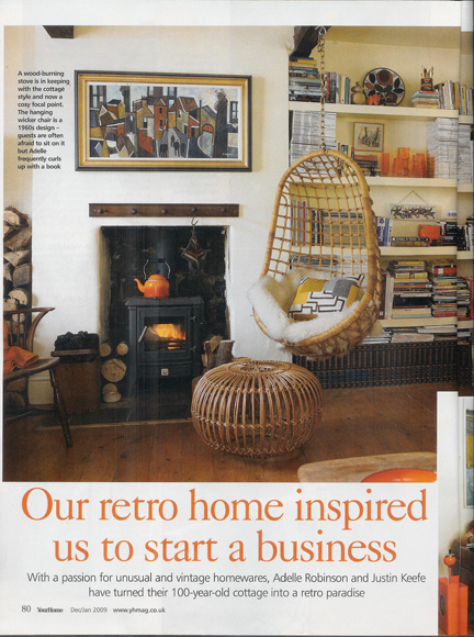 January 2010 Your Home Magazine cutting