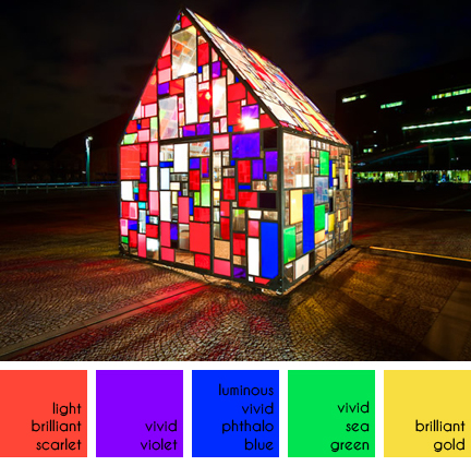 Tom Fruin's Kolonihavehus in Copenhagen