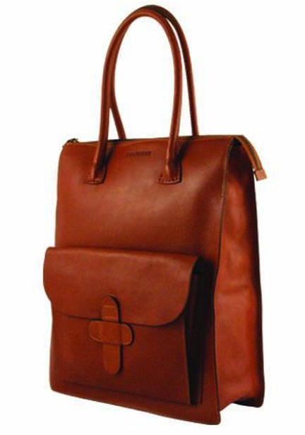 decadent 104a bag in cognac