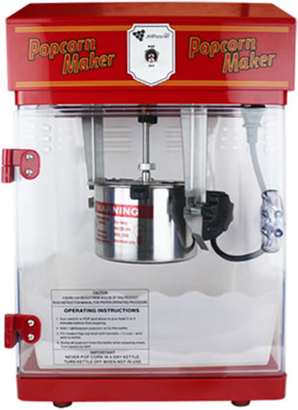 J M Posner popcorn machine available at Amazon
