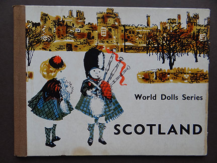 vintage World Dolls Series Scotland children's book