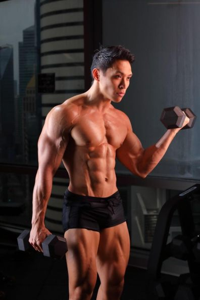 Fitness Profile Benedict Koh Overall Champion Of Fitness Super Star 2018 His Style Diary