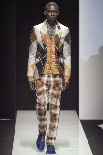 mixing patchwork with plaid