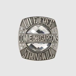 cdg x champion ring