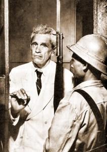 Silvestre mostrando a Cadeia Pública sem presos políticos