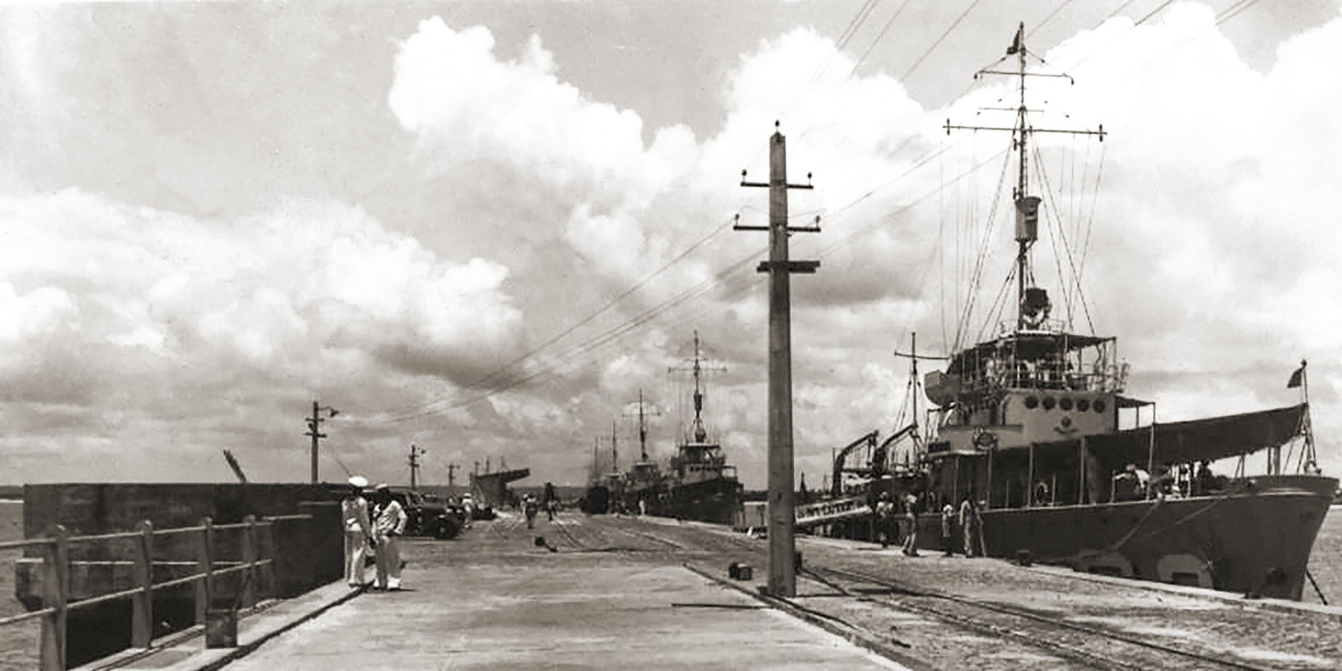 Cais do Porto em 1940