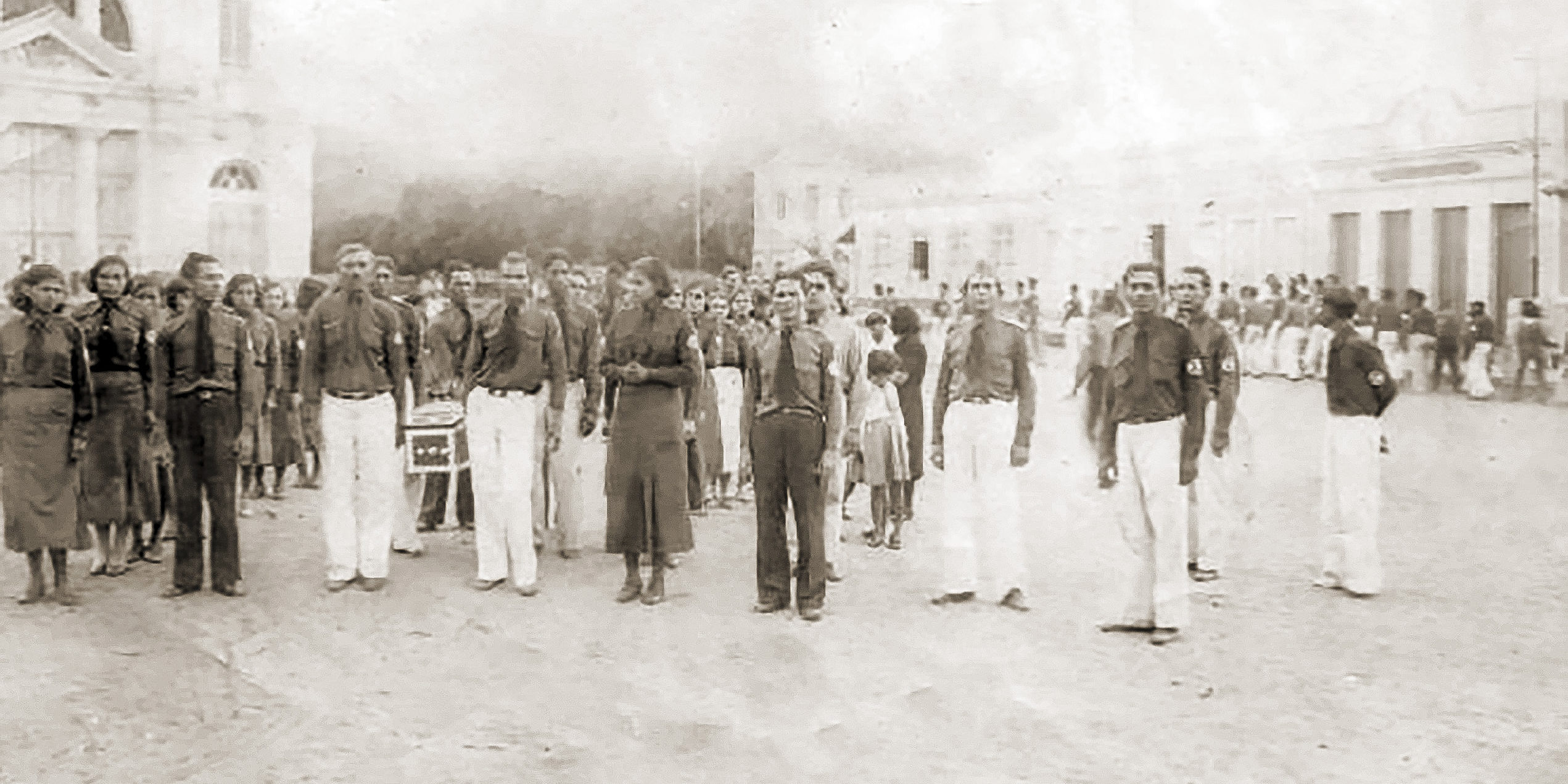 Enterro de integralista no interior de Alagoas