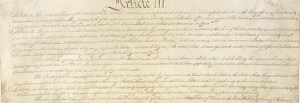 Article Three of the United States Constitution