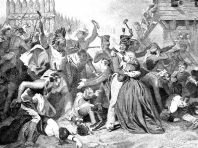 Massacre at Fort Mims August 1813