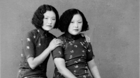 sisters, qipao-edit