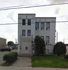 Tisdale Municipal Building, Shamrock street facade. Administration entrance. Image: Google Maps, September 2009.