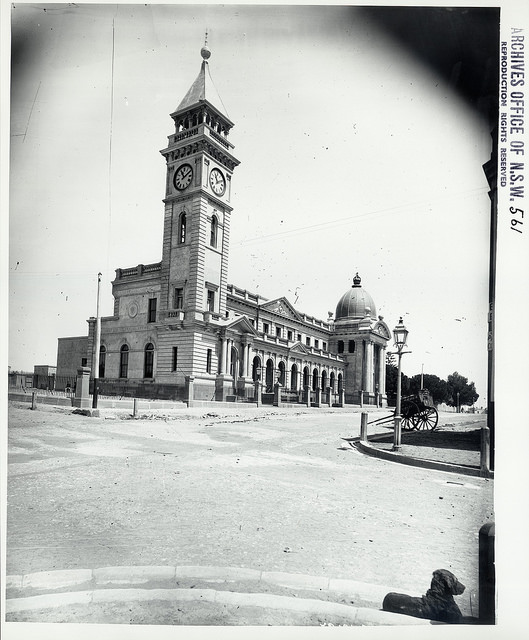 Balmain Courthouse and Post Office - Undated - Courtest of State Records NSW