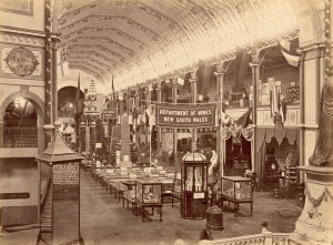 Photo courtesy of the Powerhouse Museum - The Garden Palace: the South Nave (taken from the Dome)