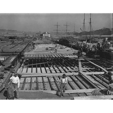 Woolloomooloo Finger Wharf One Hundred Years
