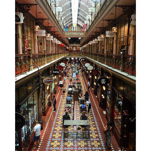 The Strand Arcade Sydney