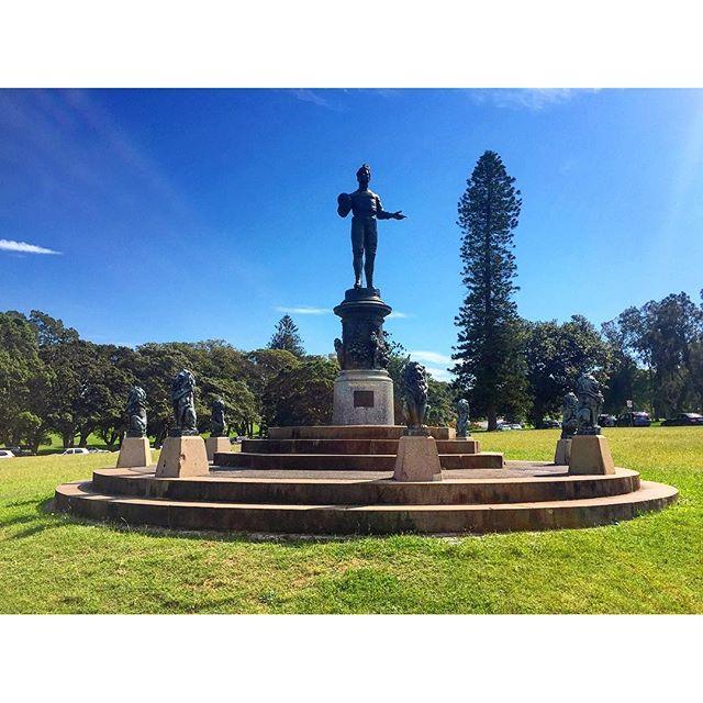 We Won Statue Centennial Park