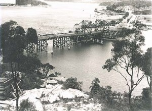 Spit Bridge courtesy State Records NSW c1932