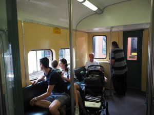 Family on the Red Rattler