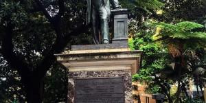 Thomas Mort Statue - Industrial Pioneer