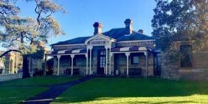 Superintendent's Residence, Centennial Park