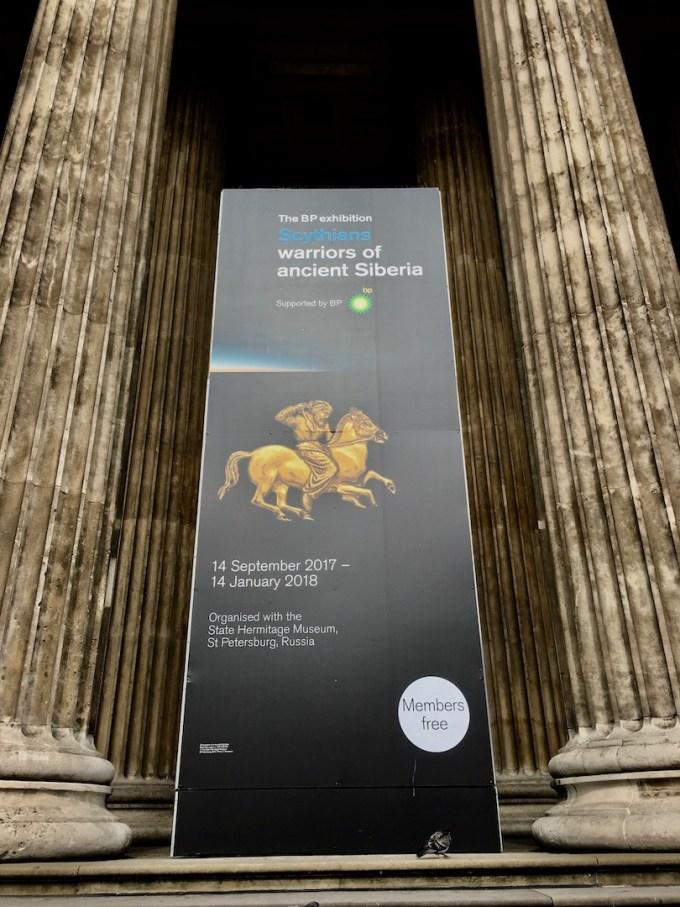 Scythians exhibit - British Museum