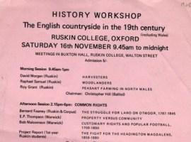 History Workshop 3