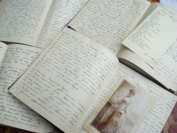 Until 1916 Kate wrote her diary entries in large ledger-type volumes ordered from Whiteleys