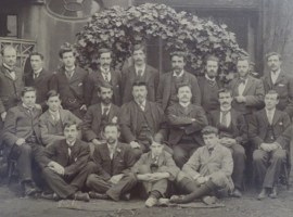 The first students at Ruskin College, Oxford