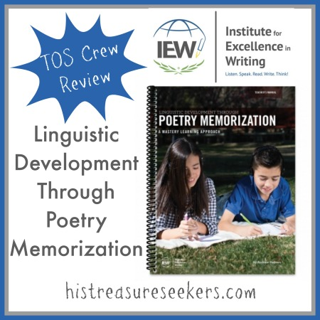 IEW Poetry Review