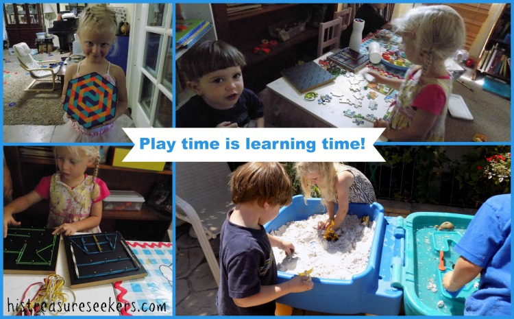Playtime collage