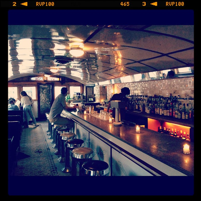 new york food drink  Under the Williamsburg Bridge