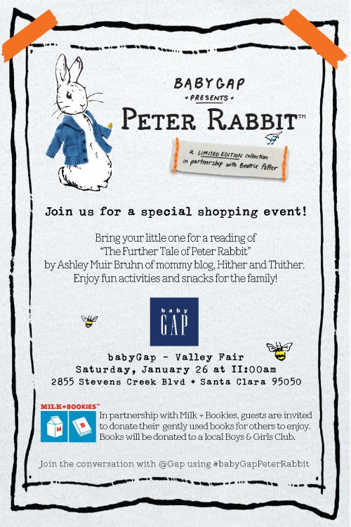 style family  babyGap presents Peter Rabbit