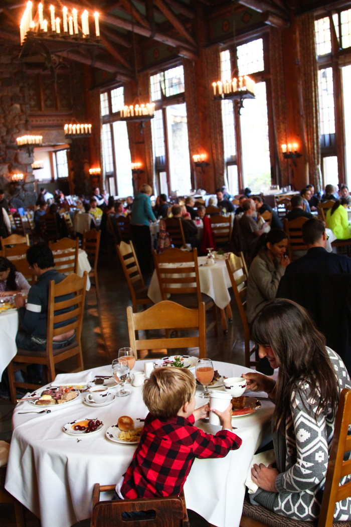 travel california  Sunday brunch at the Ahwahnee Hotel
