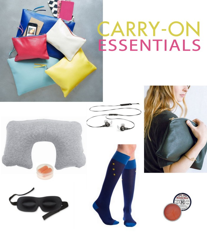 travel  In My Bag: Carry on Pouch of Essentials