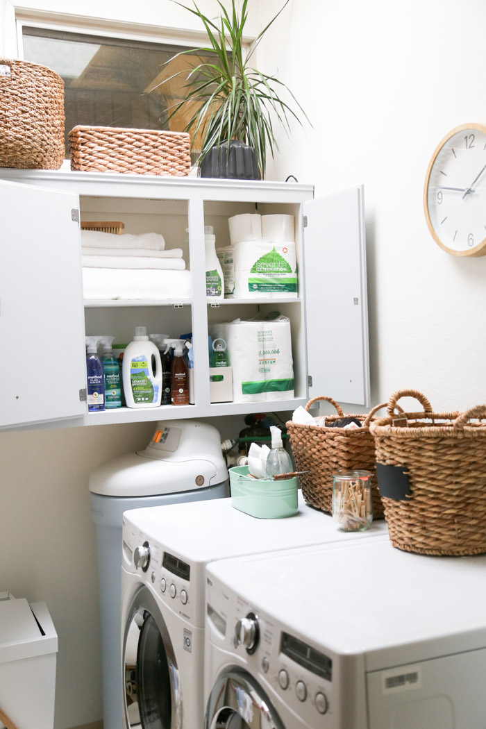 home  Living Clean: A Laundry Makeover (part 2)
