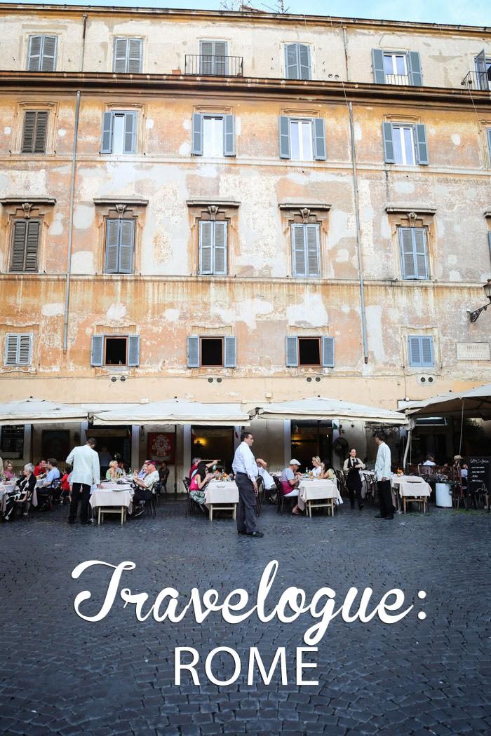travel  Travelogue: Rome, Italy