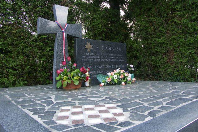Spomenik HOS Mirogoj
