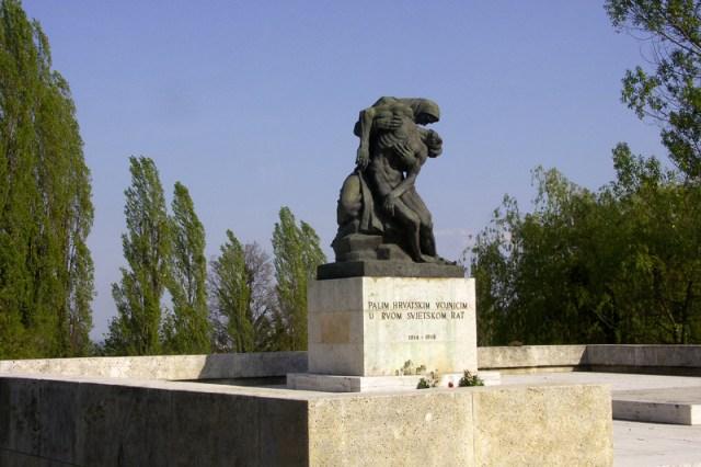 Spomenik palim hrvatskim vojnicima Mirogoj