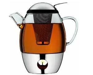 tea pot with integrated tea egg