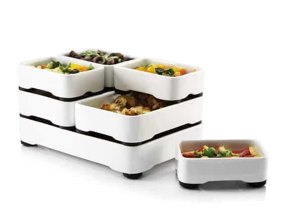 stackable oven and table dishes