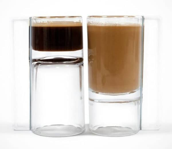 C'up coffee expresso glass