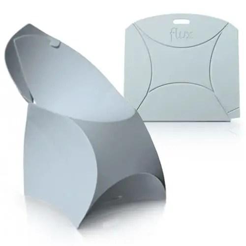 Flux futuristic foldable chair