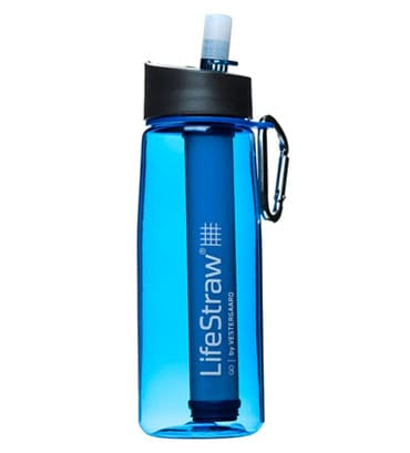 Lifestraw Go water filtering sports bottle