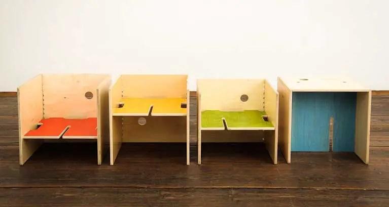 Maxinthebox modular furniture for kids