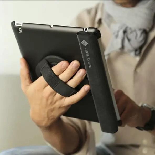 iPad grip wrap