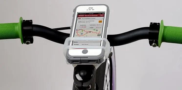 Handleband bike phone mount
